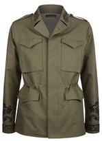 Alexander Mcqueen Embroidered Military Jacket