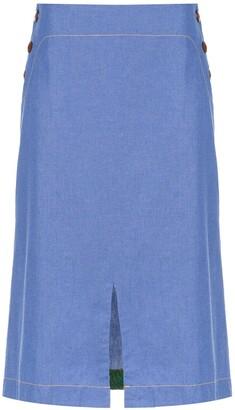 Isolda Bacuri jeans skirt