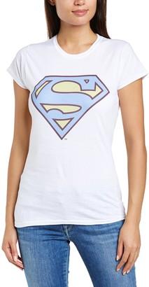 Dc Comics DC Superman Comics Women's Superman Colour Logo 2 T-Shirt