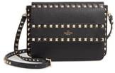 Valentino Small Rockstud Calfskin Leather Shoulder Bag