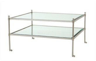 Eichholtz Aubrey Coffee Table Color: Silver Lacquered