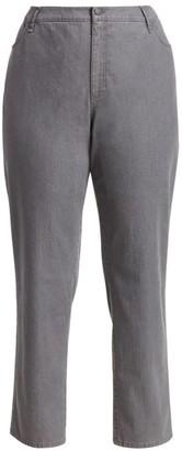 Lafayette 148 New York, Plus Size Bella Curvy Slim-Leg Jeans
