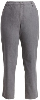 Lafayette 148 New York Lafayette 148 New York, Plus Size Bella Curvy Slim-Leg Jeans
