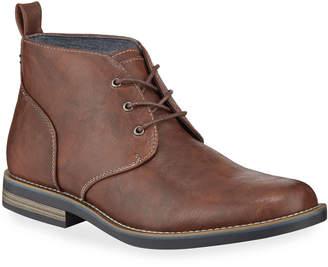 Robert Wayne Minos 2 Leather Lace-Up Chukka Boots