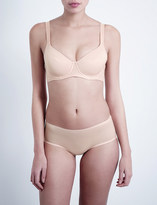 Wolford Sheer Touch underwired soft-cup bra