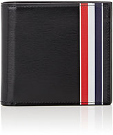 Thom Browne Men's Striped Billfold-BLACK