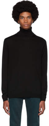 Norse Projects Black Merino Kirk Turtleneck