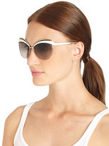 Christian Dior Metal & Plastic Cat's-Eye Sunglasses