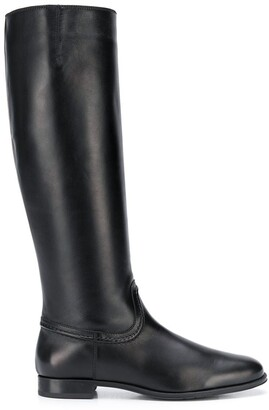 Tod's Leather Knee-High Boots
