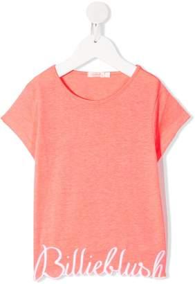 Billieblush logo embroidered T-shirt
