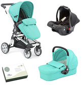 Baby Elegance Twist Travel System - Aqua