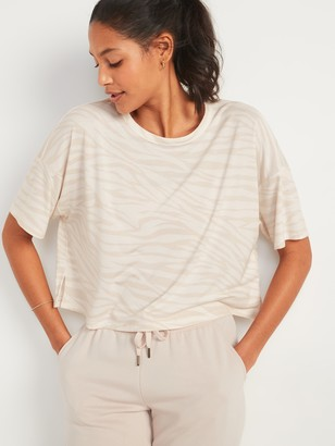 Old Navy UltraLite Performance Crop Tee for Women