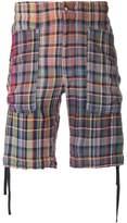 Missoni plaid shorts