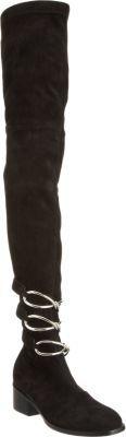 Balenciaga Daim Slim Over-the-Knee Boot