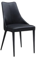 Bedoya Lebron Parsons Chair C2A Designs Upholstery Color: Black