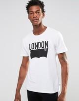 Levis Levi's Batwing London Logo T-shirt White