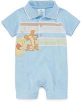 Disney Short-Sleeve Pooh Polo Bodysuit - Baby Boys newborn-24m