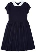 Ralph Lauren Girls' Crepe Knit Dress - Sizes S-XL