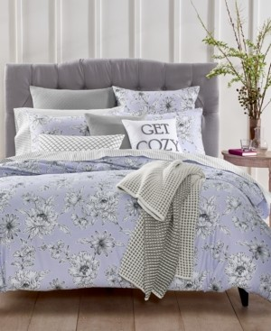 Charter Club Damask Designs Floral 2-Pc. Twin/Twin Xl Duvet Set, Created for Macy's Bedding