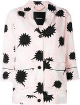 Diesel star detail blouse - women - Polyester/Viscose - XS