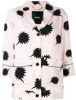 Diesel star detail blouse - women - Viscose/Polyester - XS