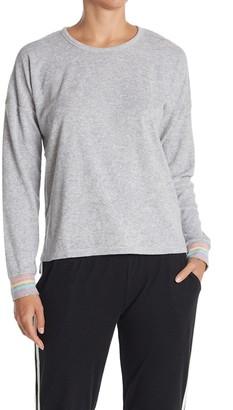 PJ Salvage Rainbow Cuff Long Sleeve Pajama T-Shirt