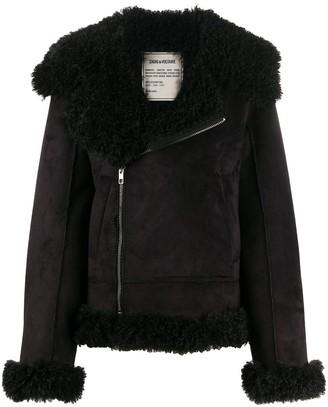 Zadig & Voltaire Forum faux-fur jacket