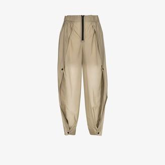 Issey Miyake Air high waist wide leg trousers