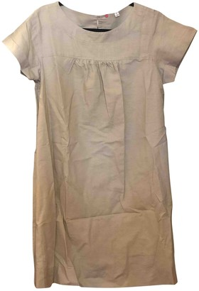 Uniqlo Beige Linen Dress for Women