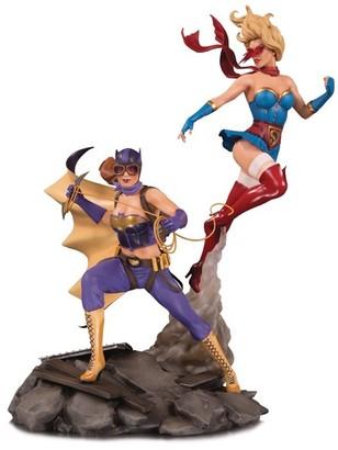 Dc Comics DC Bombshells: Batgirl & Supergirl - Celebration Statue