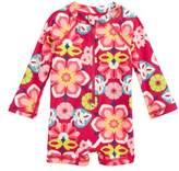 Tea Collection Flora One-Piece Rashguard Swimsuit