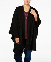 Style&Co. Style & Co. Plus Size Fringe Wrap, Only at Macy's