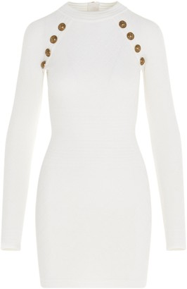 Balmain Embellished Bodycon Dress