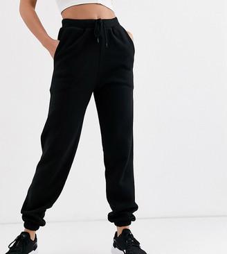 Asos Tall DESIGN Tall oversized jogger-Black