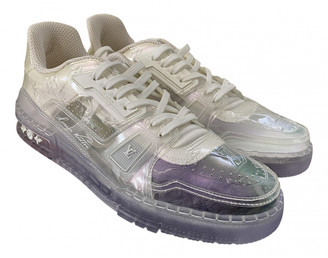 Louis Vuitton Trainer White Plastic Trainers