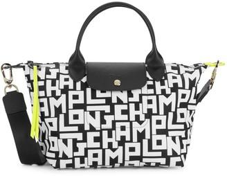Longchamp Logo Convertible Top Handle Bag