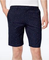 "Ben Sherman Men's Triangle-Print Shorts, 9"" inseam"