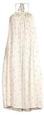 Polo Ralph Lauren Women's Halterneck Floral Tent Dress - Size 0