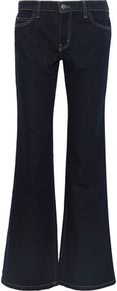 Current/Elliott The Wray Mid-rise Flared Jeans