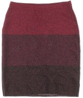 Anne Klein Women's Color Block Lurex Sweater Skirt