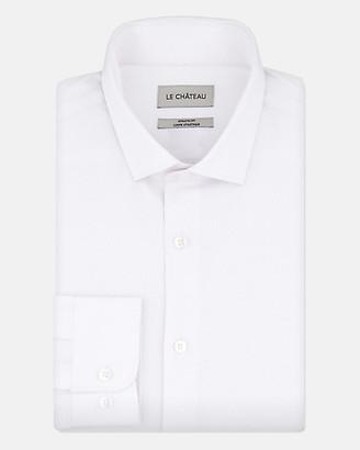 Le Château Tonal Cotton Blend Athletic Fit Shirt