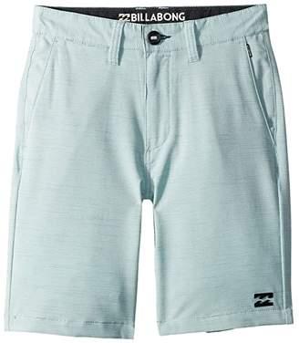 Billabong Kids Crossfire X Slub Shorts (Big Kids)