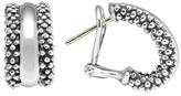 Lagos Women's Caviar(TM) Sterling Silver Hoop Earrings