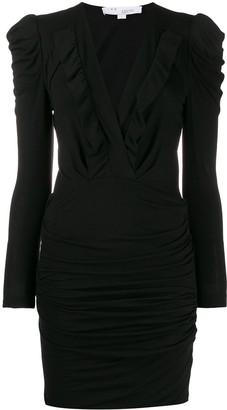 IRO v-neck jersey dress