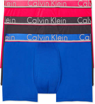 Calvin Klein Men Comfort Microfiber Trunk 3 Pack
