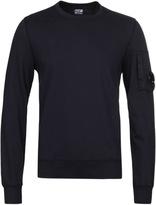 Cp Company Navy Watch Viewer Crew Neck Sweatshirt