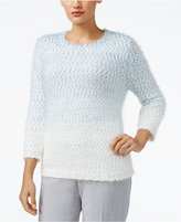 Alfred Dunner Northern Lights Ombré Sweater