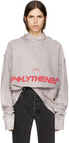 A-Cold-Wall* Reversible Grey Logo Polythene Hoodie