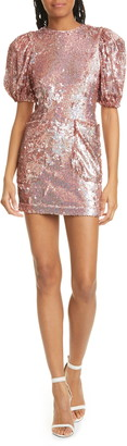 Rotate by Birger Christensen Katie Sequin Minidress