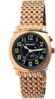 Breed Ray Moon-phase Bracelet Watch.